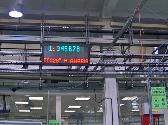Andon Industrial Production Line Monitoring System